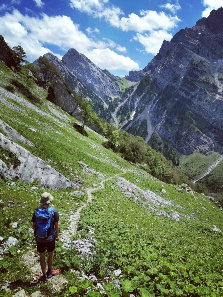 Im Herzen des Karwendel wandern