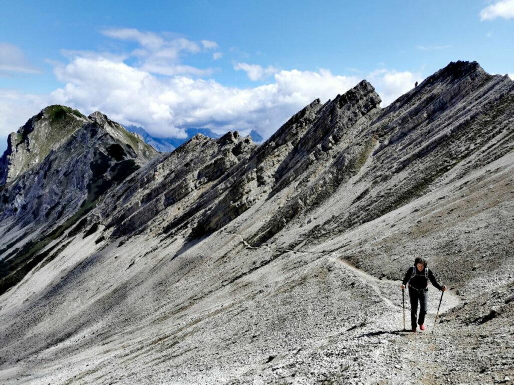 Wildes Karwendel - bei der Wanderung Richtung Härmelekopf