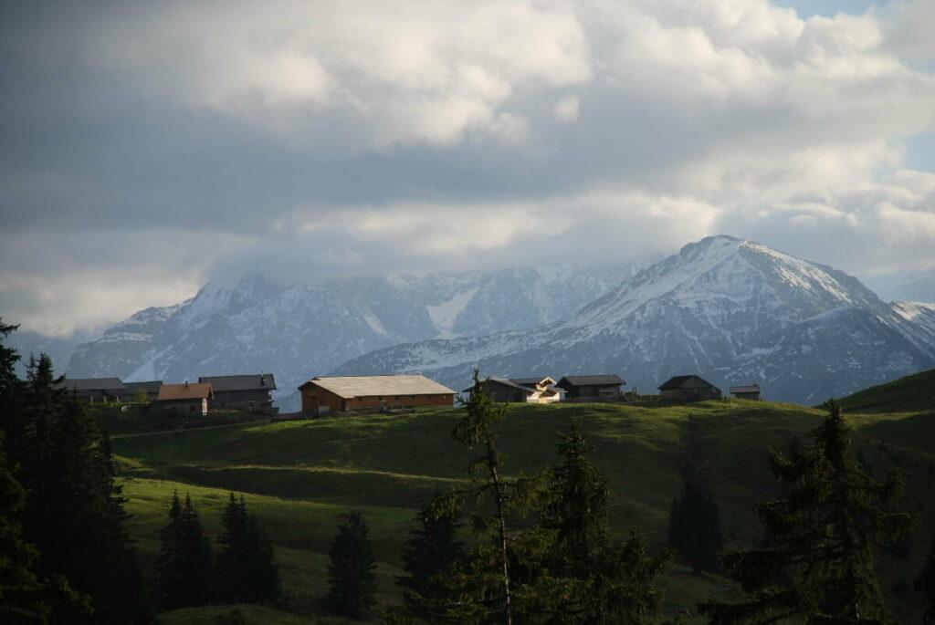 Die Rotwandalm im Karwendel