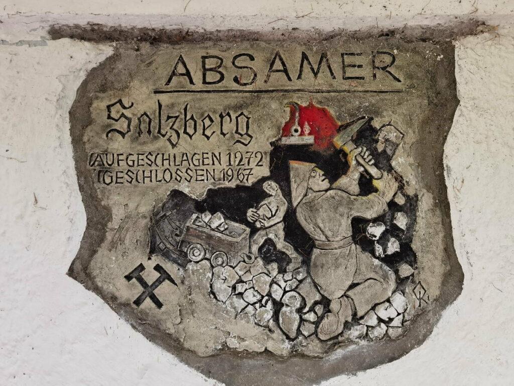 """Der Absamer Salzberg - ein Relikt der """"guten, alten Zeit"""""""