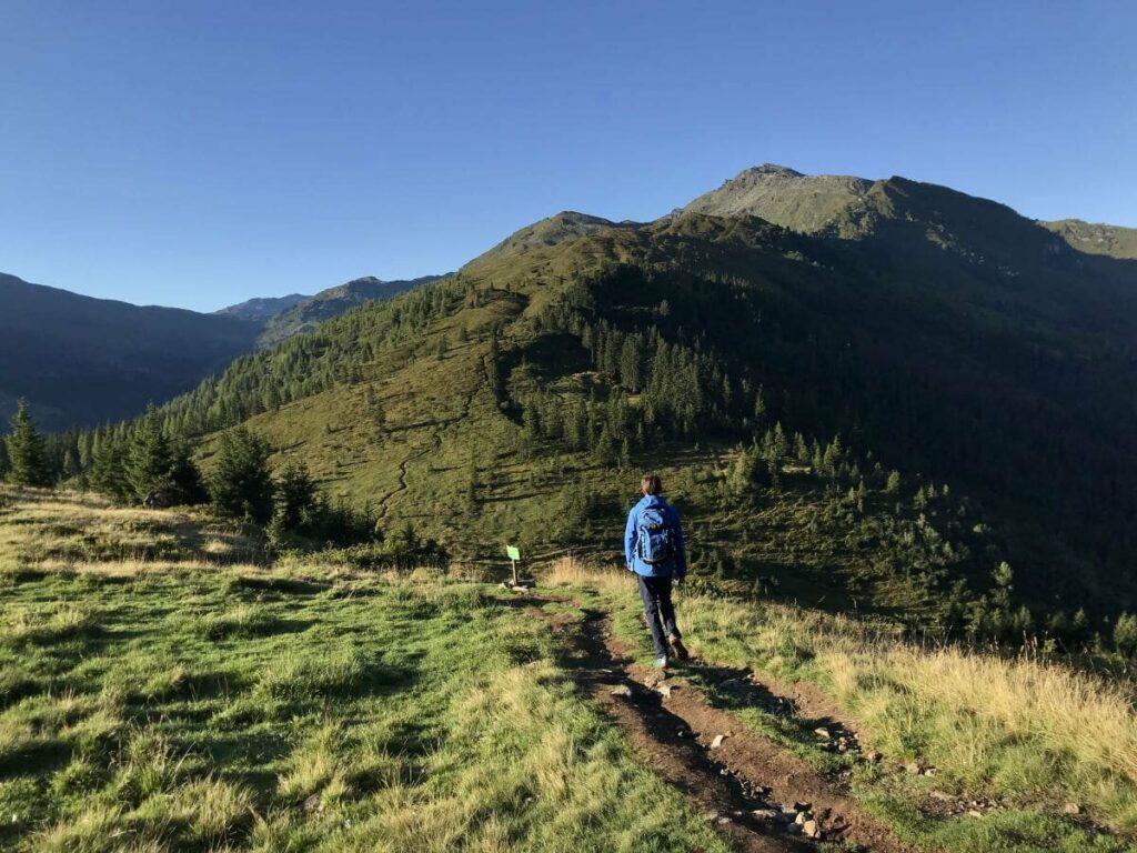 Schwaz wandern - das sind die Berge oberhalb der Stadt