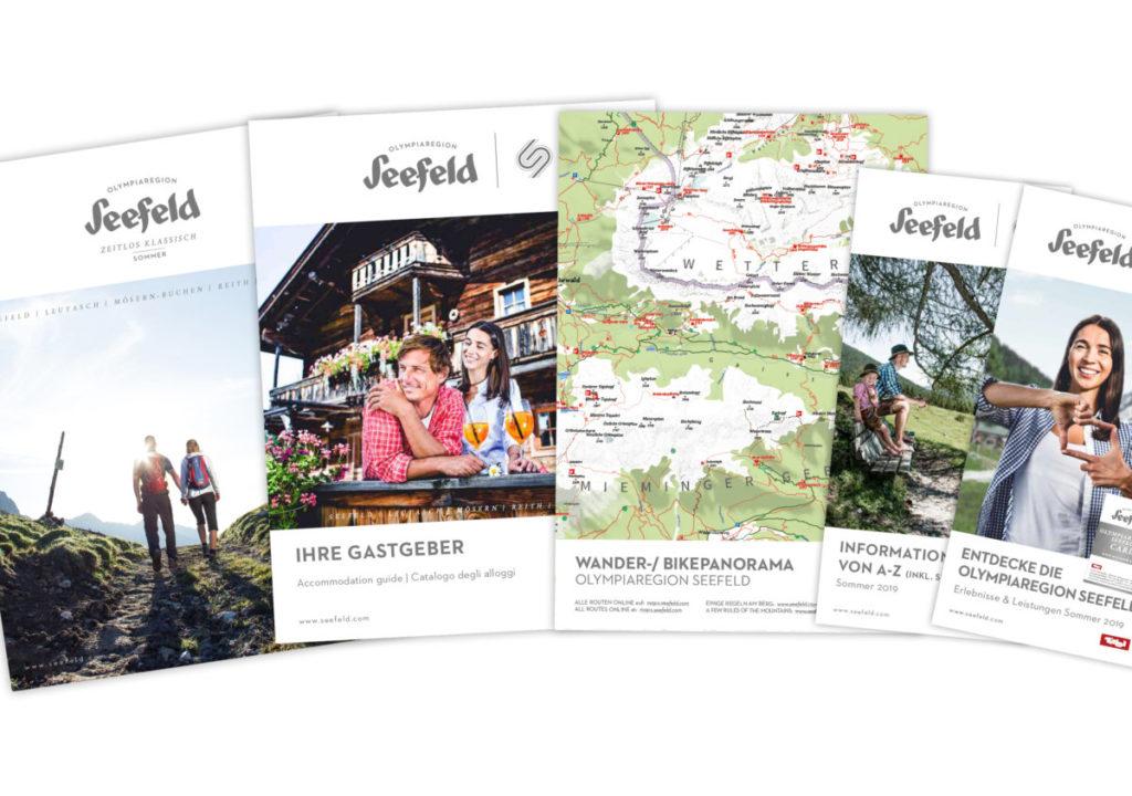 Kostenlose Prospekte und Wanderkarten für deinen nächsten Urlaub im Karwendel