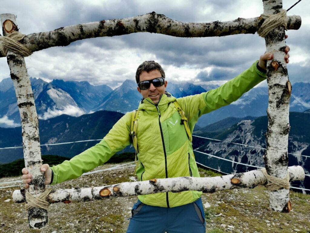 Seefeld Rosshütte - cooler Fotopoint am Seefelder Joch, direkt bei der Bergstation