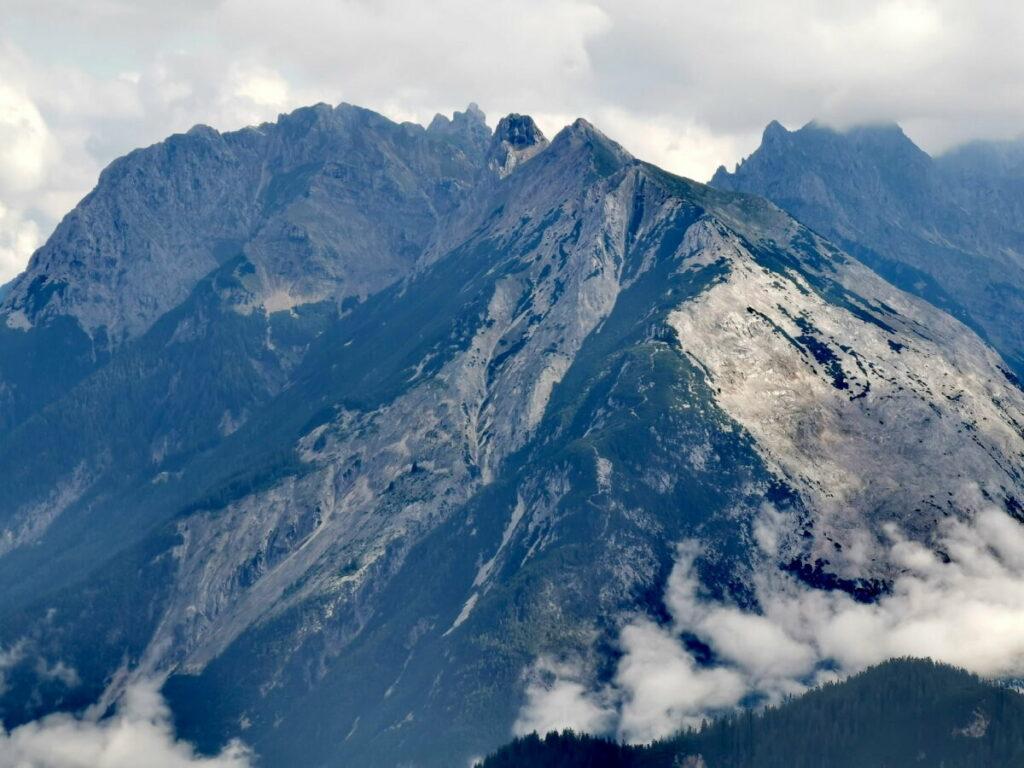 Das imposante Karwendel siehst du nur von ganz oben!