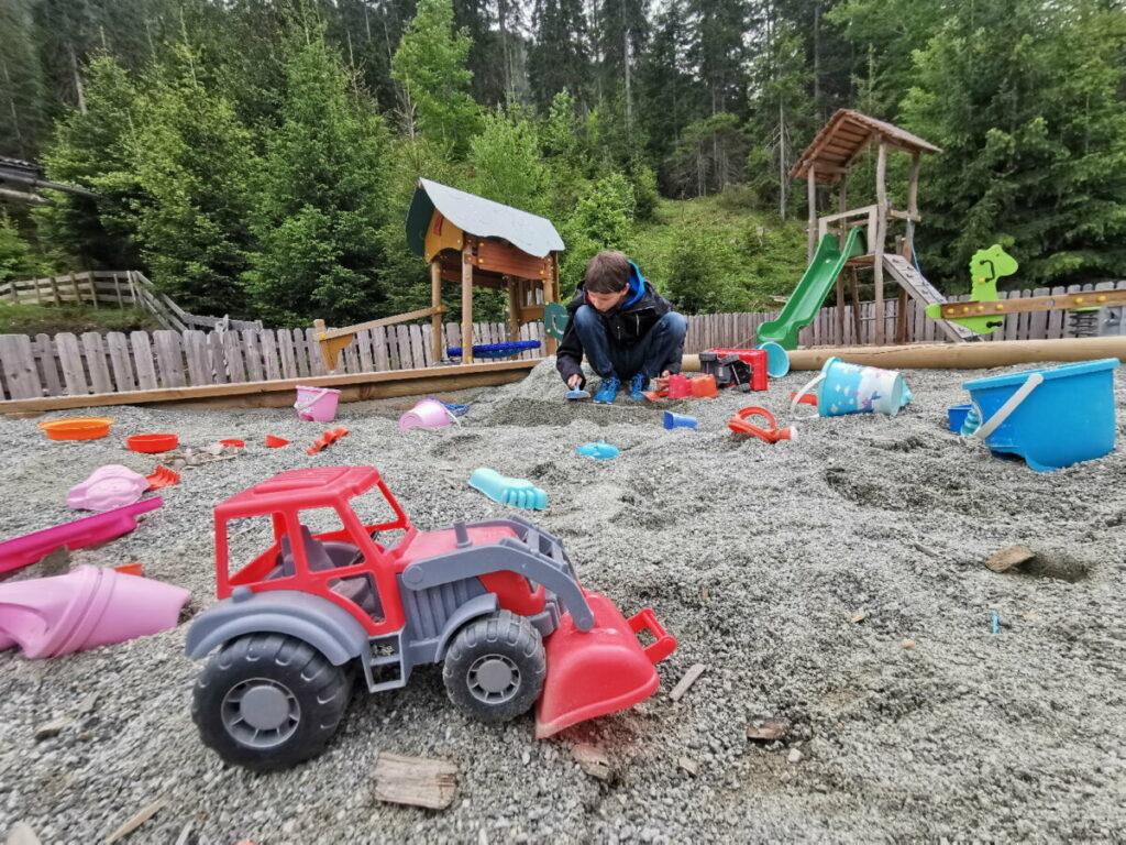 Der Bodenalm Spielplatz in Seefeld