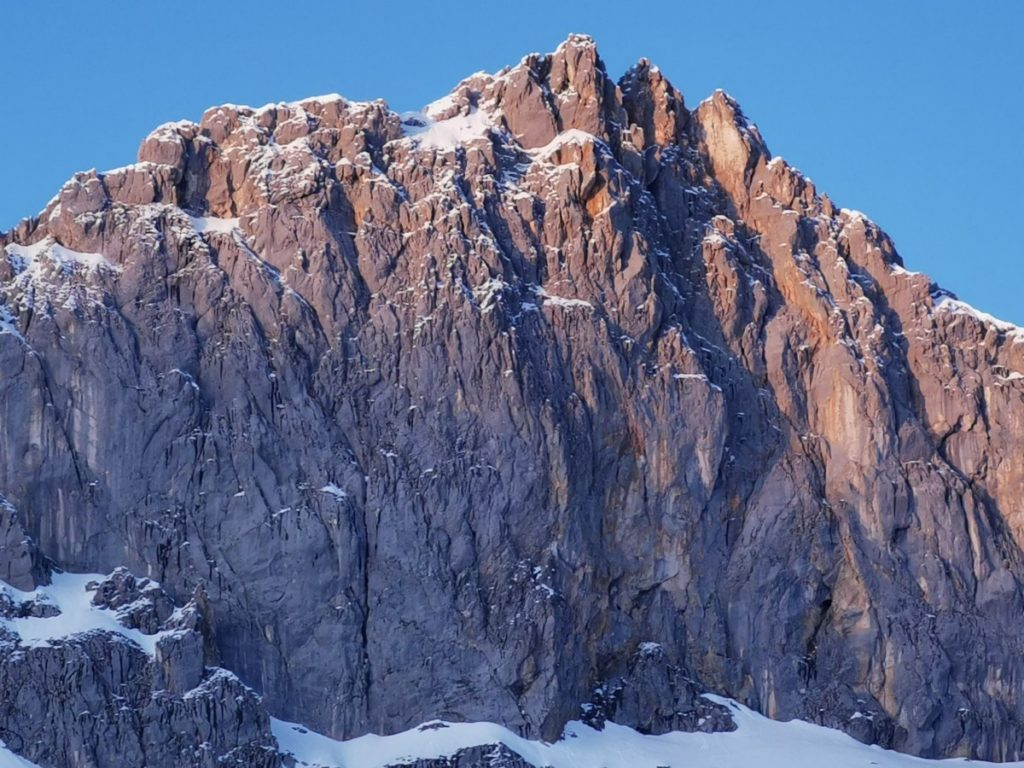 Traumplätze der Alpen - die Felswände im Wettersteingebirge