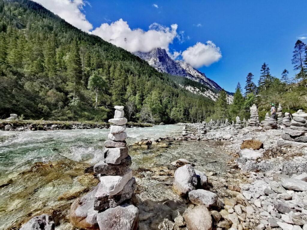 Seefeld wandern: Zum Naturdenkmal im Karwendel
