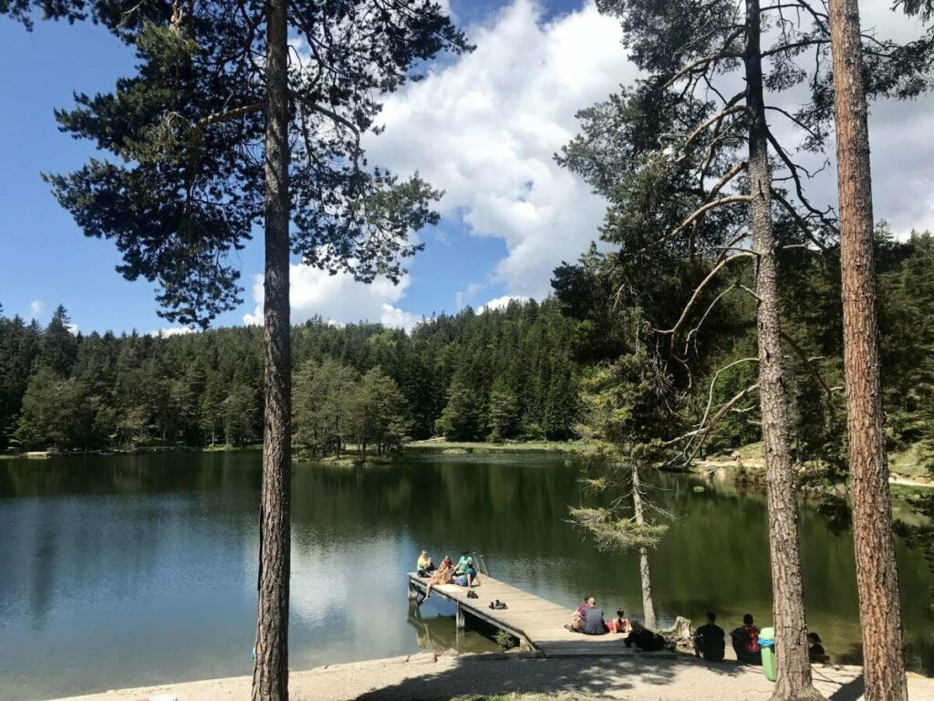 Beliebte Seen Tirol - der Möserer See