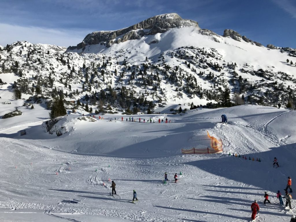 Skigebiet Rofan - das Kinderskigelände