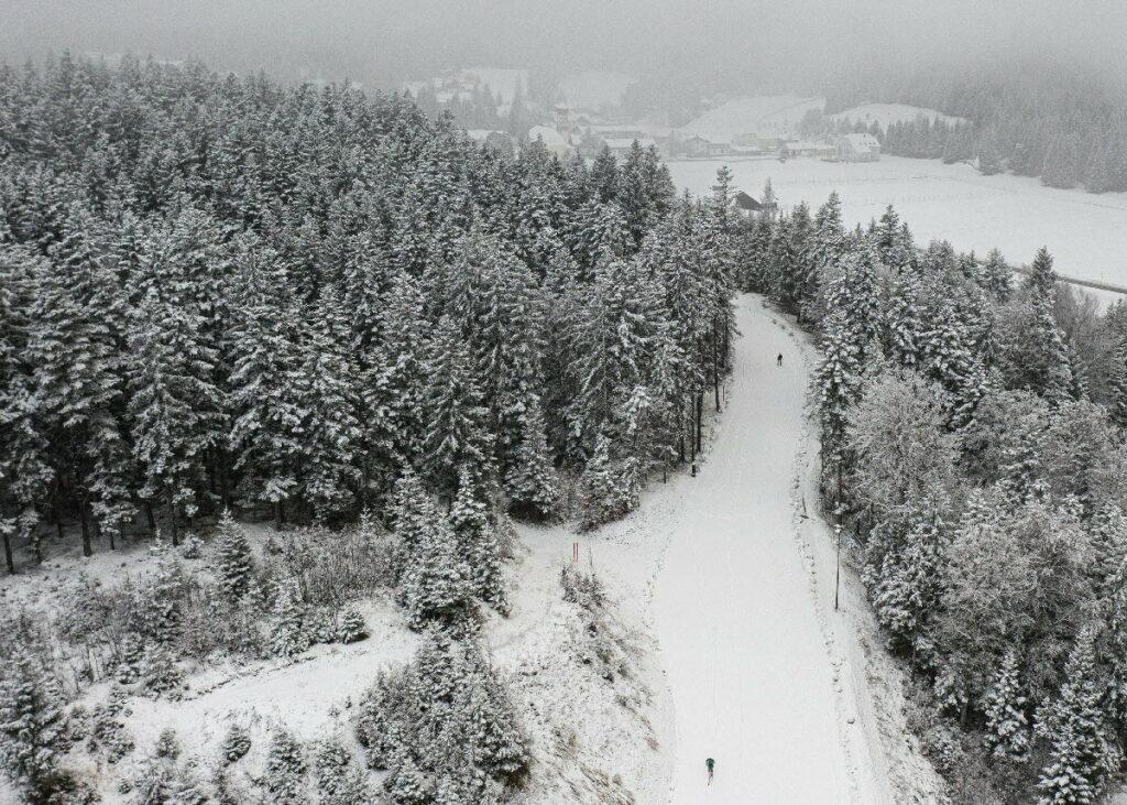 Dank Snowfarming Loipe Seefeld zum Langlaufen in die Leutasch, Bild: TVB Seefeld