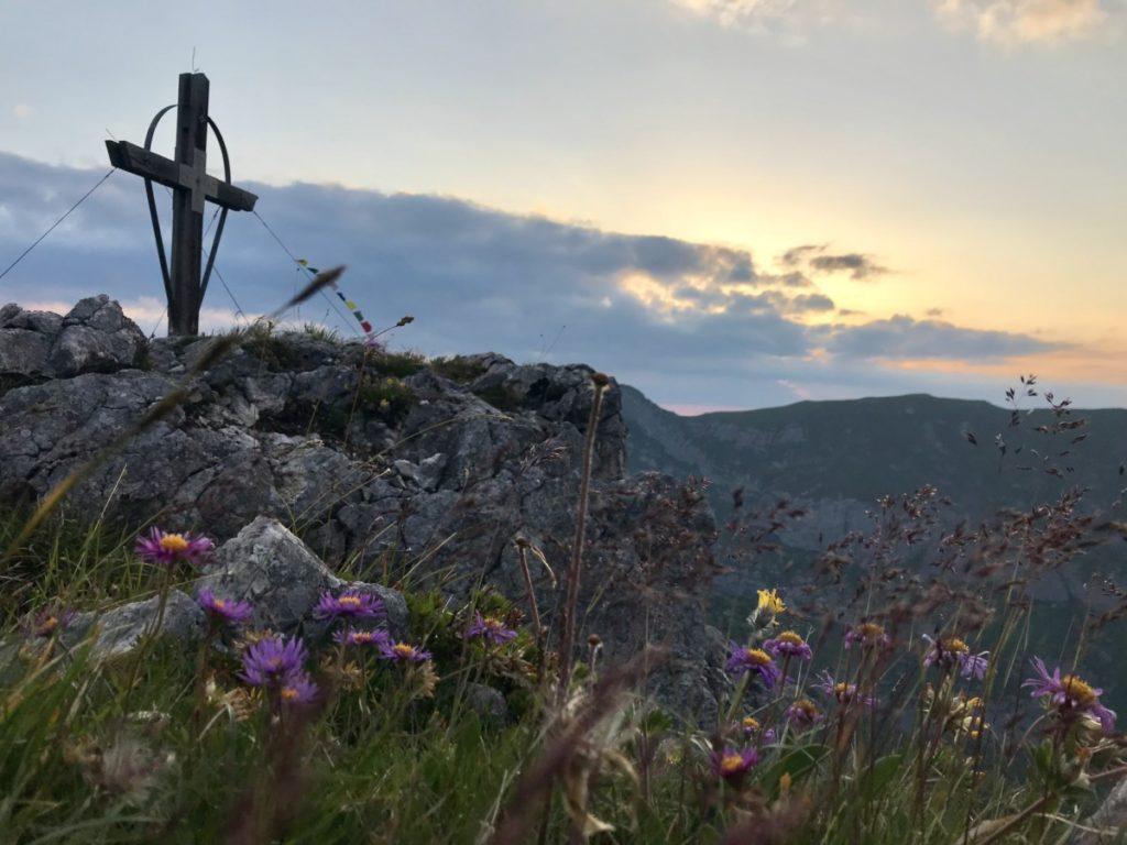 Meine Sonnenaufgangswanderung vom Berggasthof Rofan