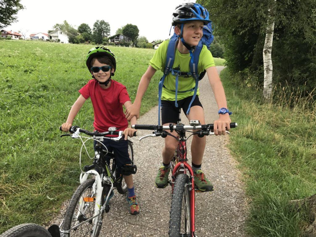 Murnau am Staffelsee - radfahren um den See