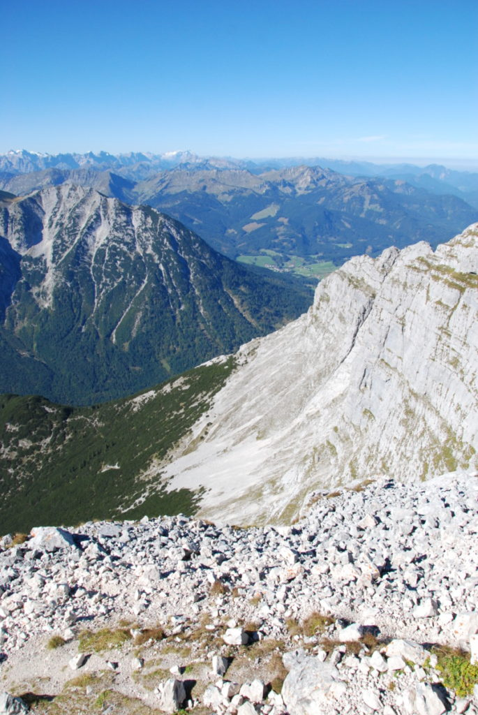 Steinberg am Rofan - Ausblick auf der Guffert Wanderung