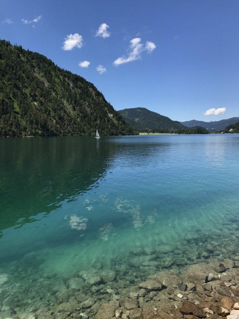 Tiefe Achensee - wie tief ist der Achensee?
