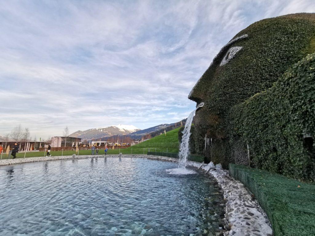 Tirol Sehenswürdigkeiten:  Die Kristallwelten gehören zu den meistbesuchen Sehenswürdigkeiten in ganz Österreich - sie befinden sich am Fuße des Karwendel bei Hall in  Tirol