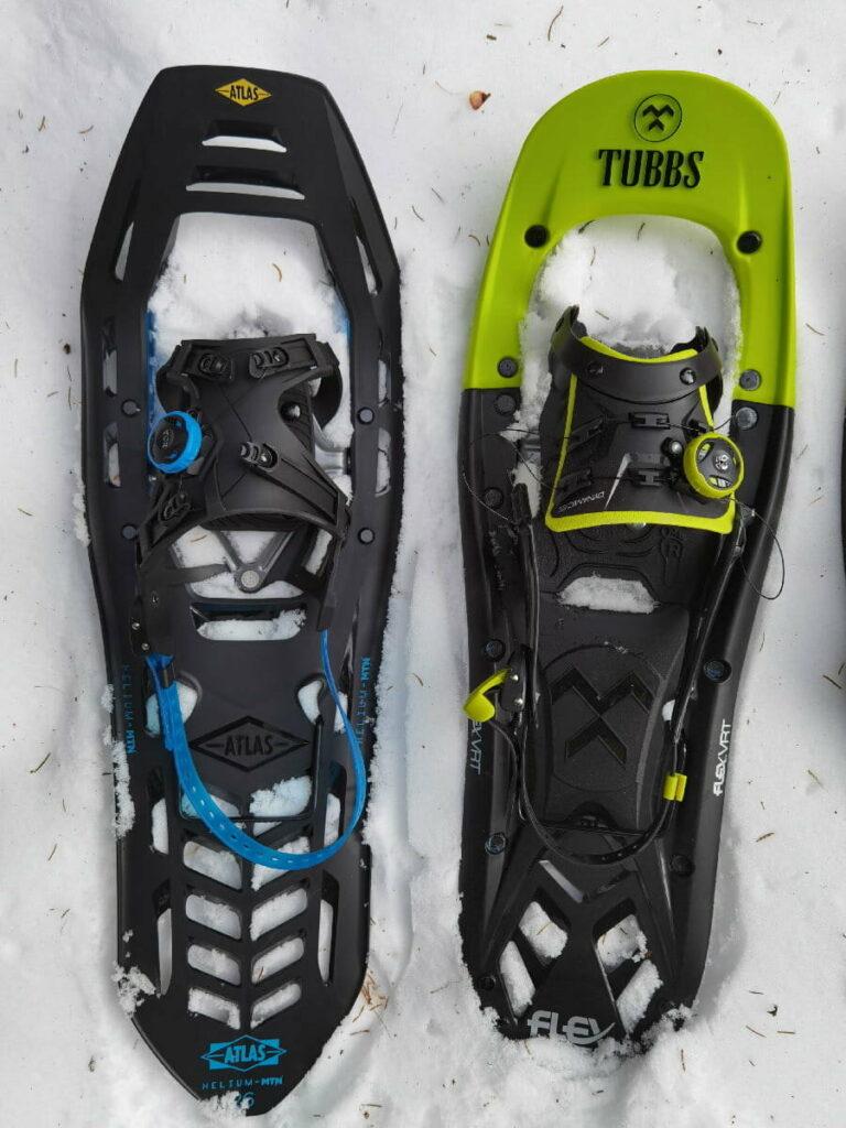 Schneeschuhe Test - Tubbs Flex VRT im Vergleich mit Atlas Helium