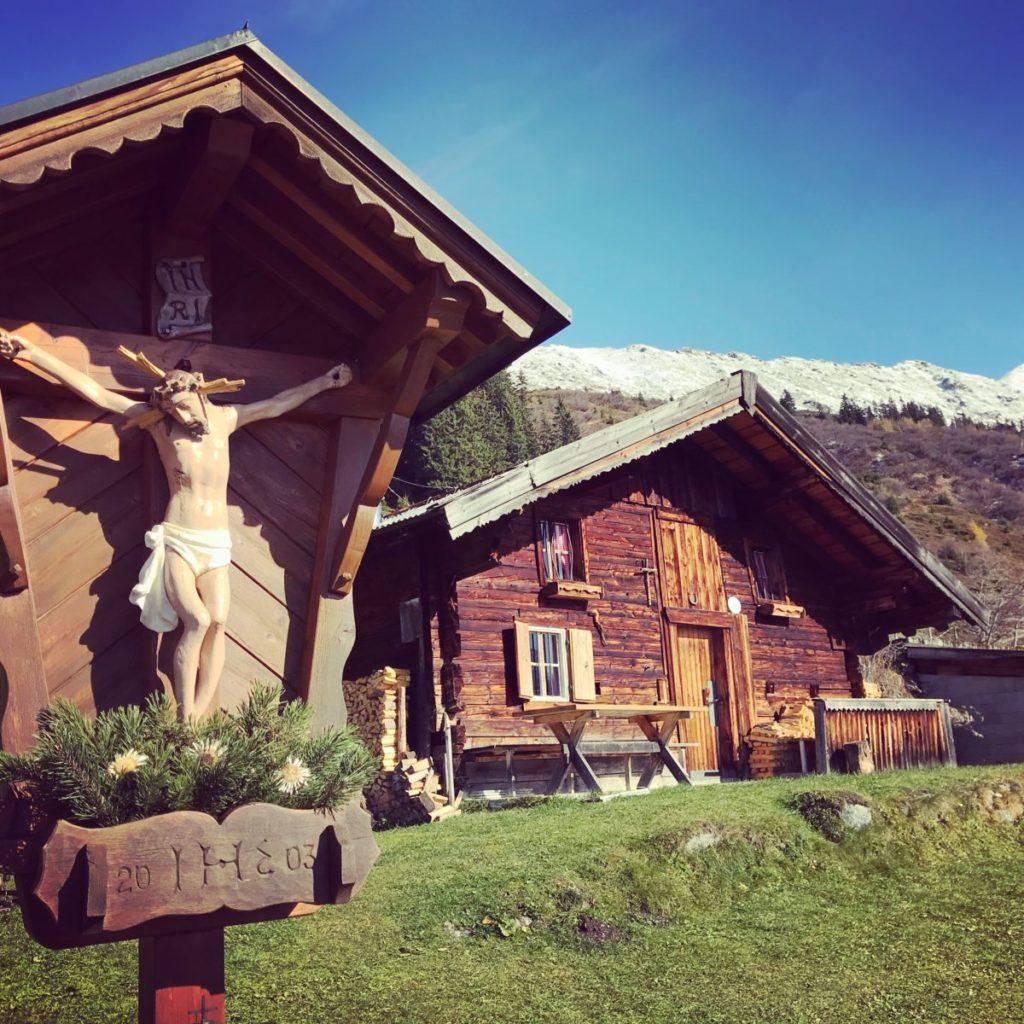 Viele eindrucksvolle Almen findest du in den Tuxer Alpen