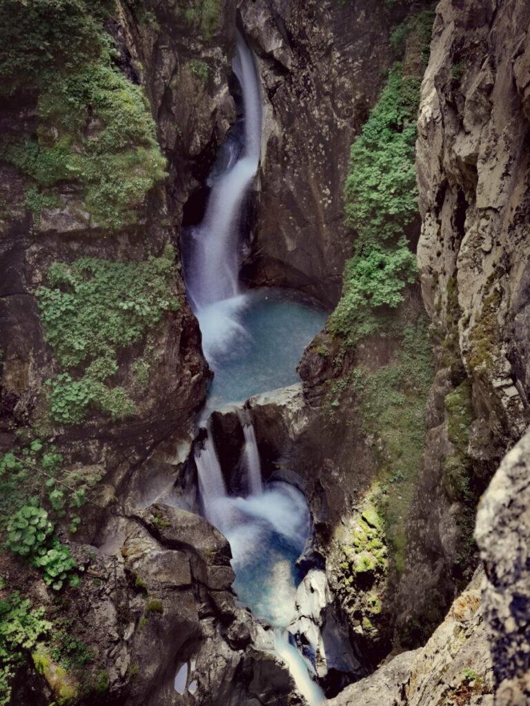 Einmalig schön: Die Tuxer Wasserfälle im Zillertal