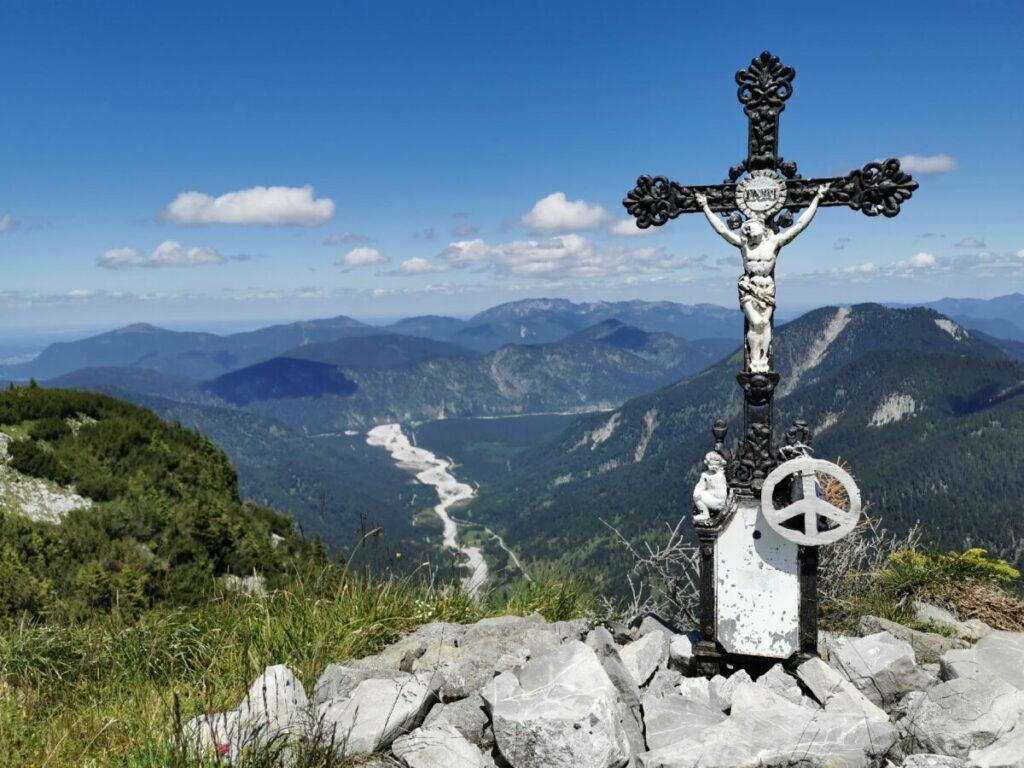 Am Vorderskopf Gipfel - geheime Wanderung in Hinterriss
