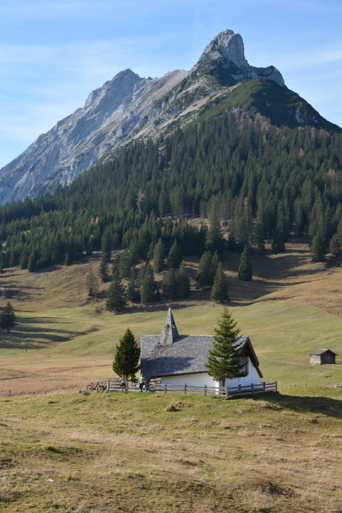 Walderalm wandern - das ist die Kapelle