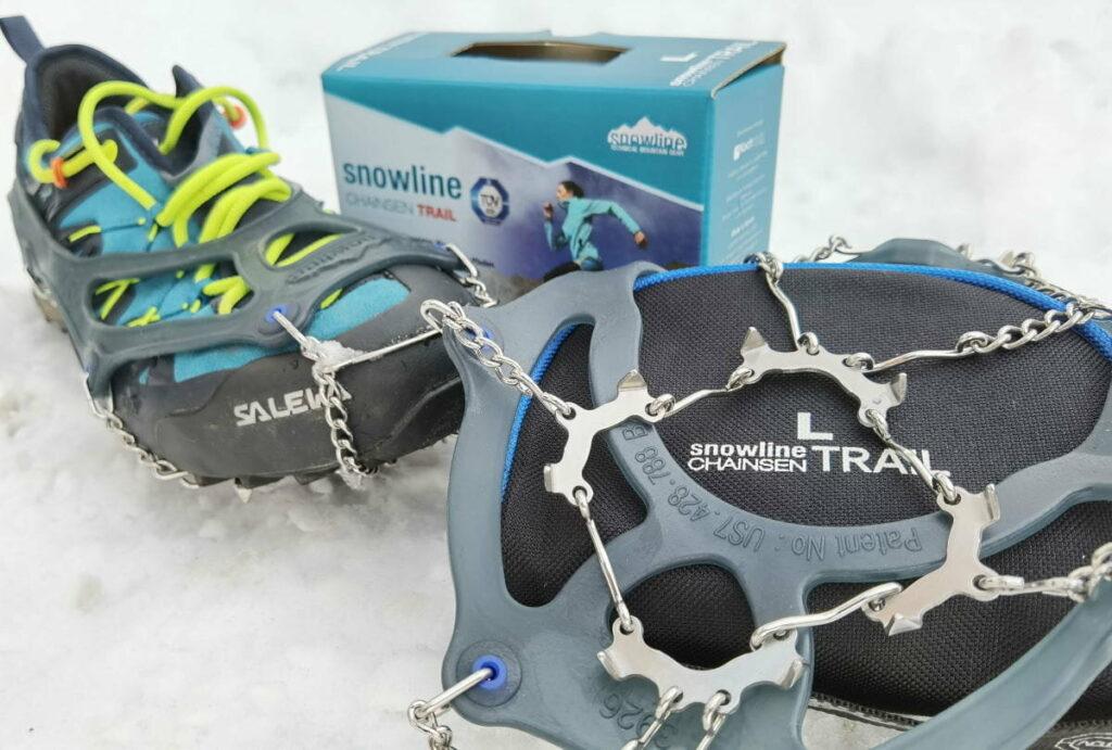 Wanderausrüstung für den Winter: die snowline Grödel Spikes