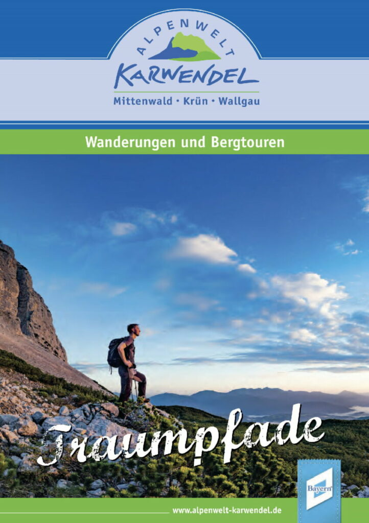 Entdecke deine Traumpfade im Wanderführer von Mittenwald, Krün und Wallgau