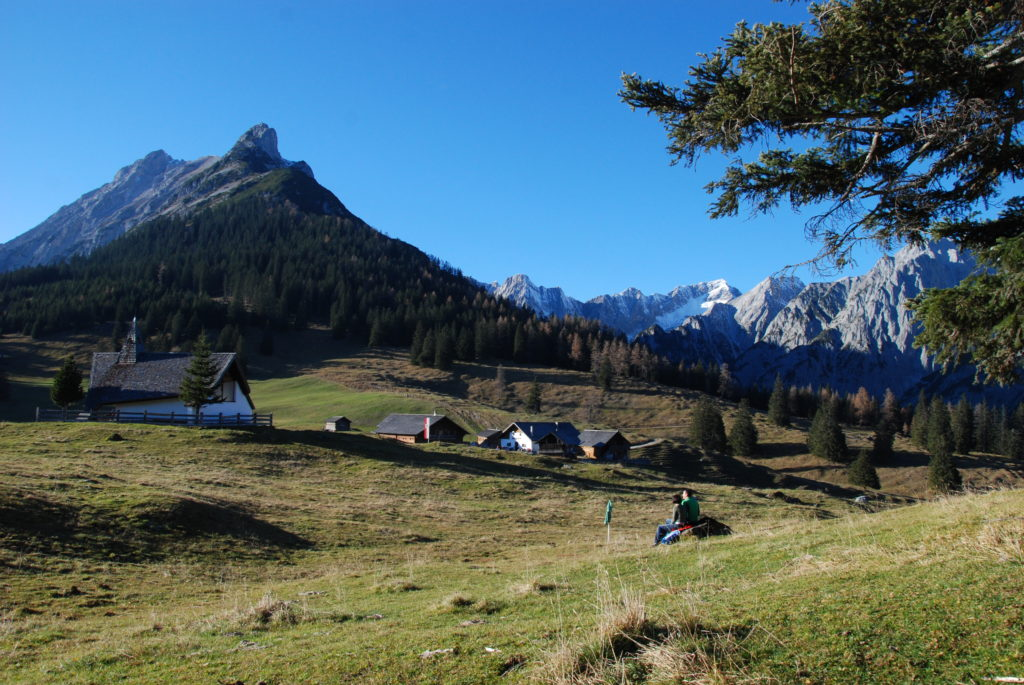 Wanderkarte kostenlos - für so schöne Wanderungen in den Alpen