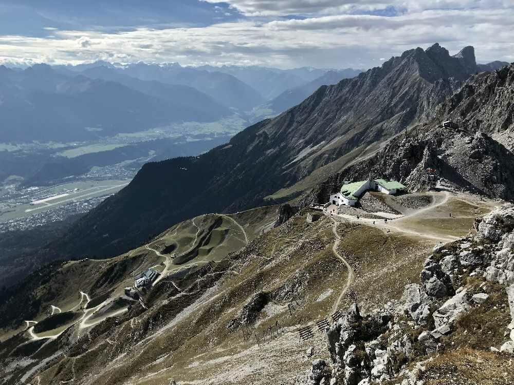 Wandern Inntal - rund um das Hafelekar in Innsbruck