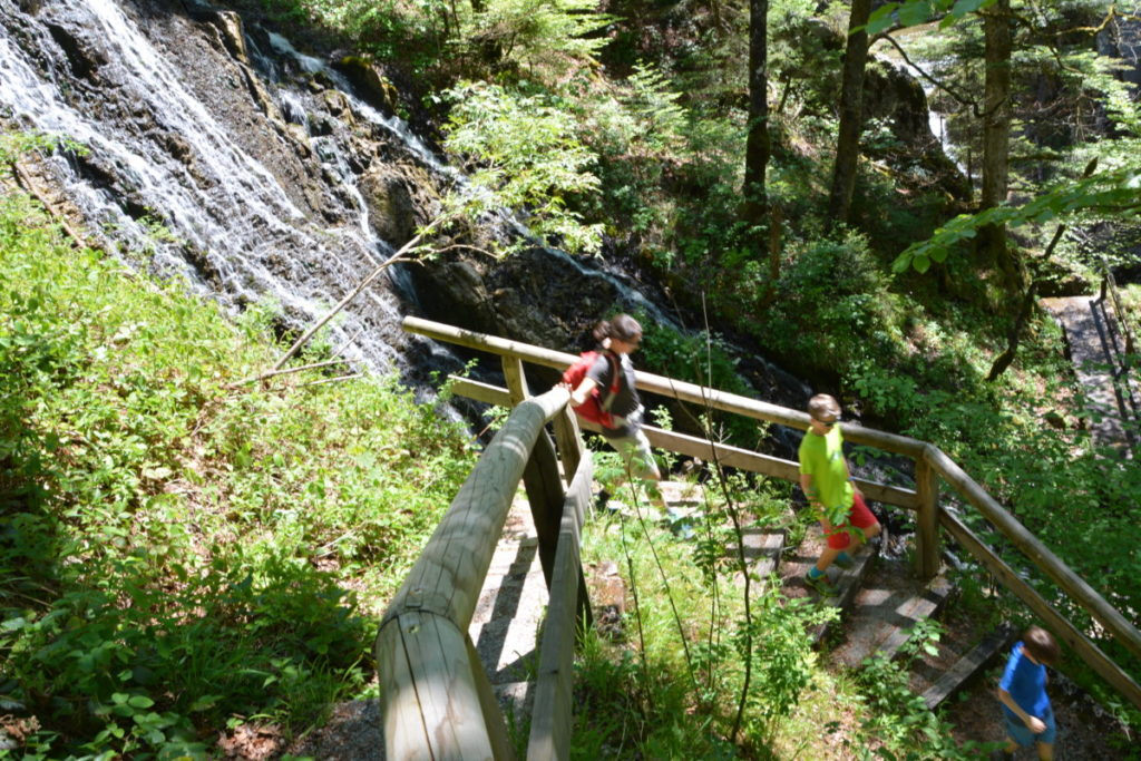 Wasserfall Tegernsee wandern
