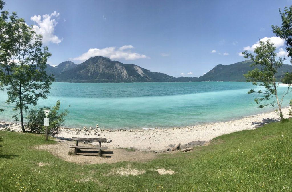 Wassertemperatur Walchensee