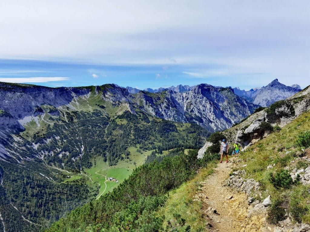 Von der Weissenbachalm auf den Bärenkopf wandern