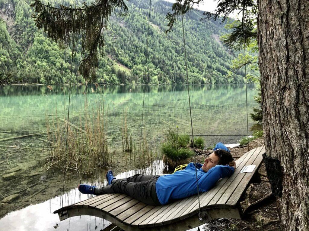 Am Weissensee in Österreich