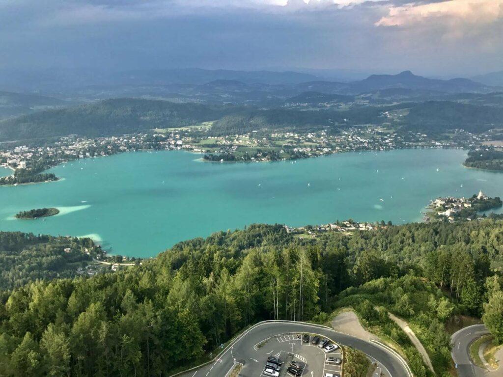 Einer der bekanntesten Seen in Österreich - der Wörthersee