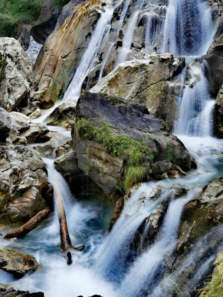 Zillertal Wasserfälle in Tux
