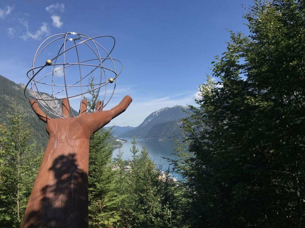 Karwendelbahn Pertisau Alternative: Wanderung auf dem Besinnungsweg zum Gipfel