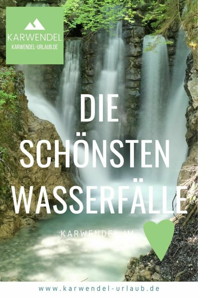 Die schönsten Wasserfälle im Karwendel