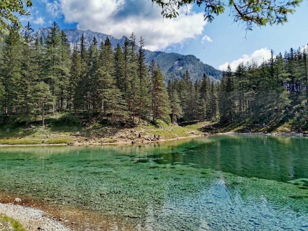 Zum schönsten Platz in Österreich gewählt: Grüner See in der Steiermark