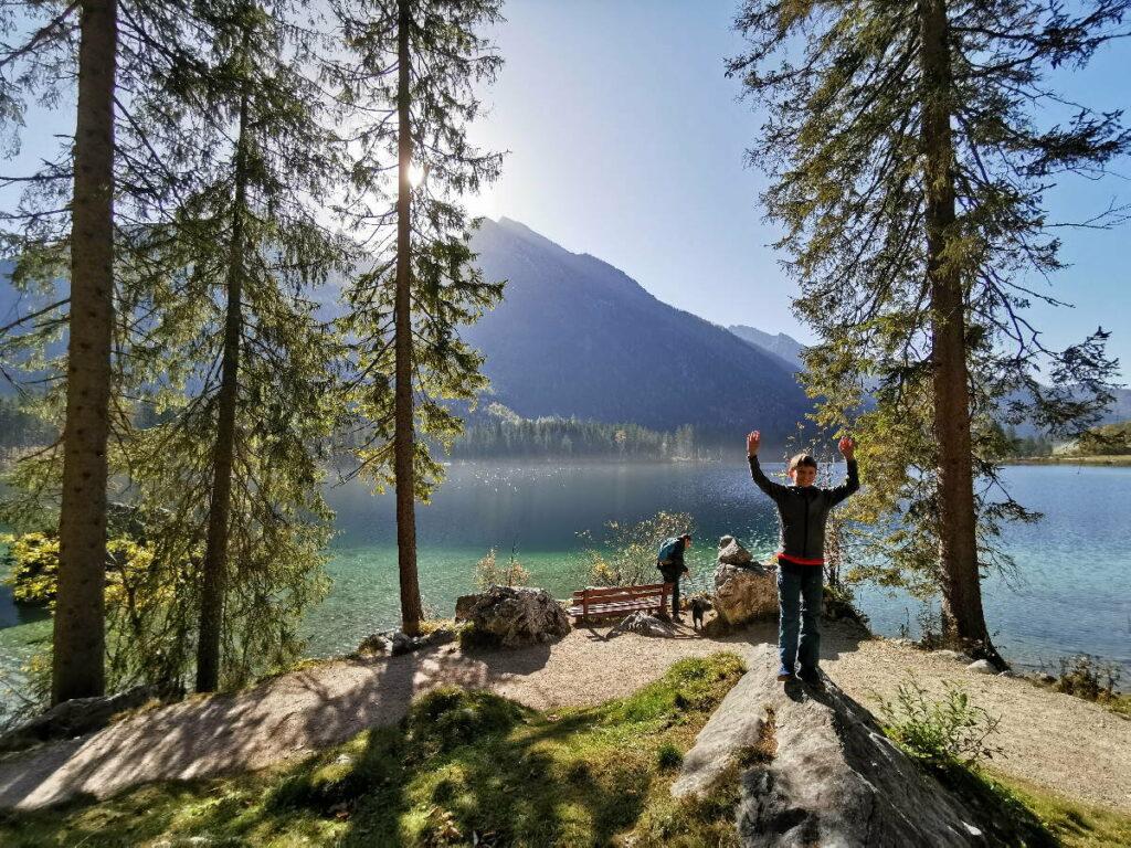 Schöne Seen in Deutschland - der Hintersee gehört definitiv dazu